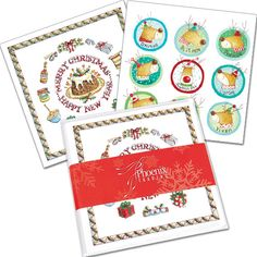 Mixed Card Packs makes choosing cards easy! Our Jolly Pack (XP34) features 8 cards (4 each of each design) with white envelopes. To top it off, it comes beautiful presented with a red belly band.