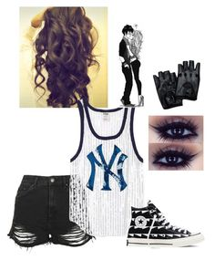 """""""#singlelife"""" by itsgracie18 ❤ liked on Polyvore featuring Topshop, Victoria's Secret and Converse"""