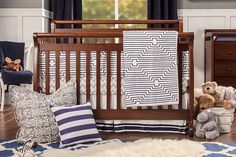 Emily 4-in-1 Convertible Crib with Toddler Bed Conversion Kit | DaVinci Baby