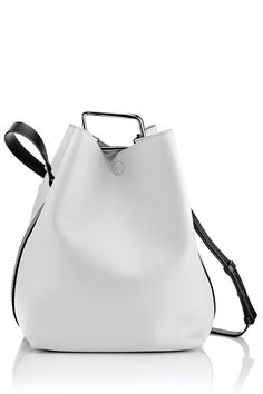 Phillip Lim Bucket Bag Style Minimal Harper and Harley My Bags, Purses And Bags, Leather Bag, Pink Leather, Leather Craft, Real Leather, Leather Handbags, Cheap Handbags, Clutch Purse