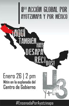 'Ensenada por Ayotzinapa' FUE EL ESTADO: #YaMeCansé28 #MéxicoEstadoFallido #MéxicoViolento #Impunidad #Represión #DDHH #Ayotzinapa #Iguala #Guerrero #México #Normalistas #AyotzinapaSomosTodos #JusticiaParaAyotzinapa #JusticeForAyotzinapa #YoSoyAyotzinapa #AcciónGlobalPorAyotzinapa #Artículo39RenunciaEPN #EPN #20NovMx #CriminalizaciónDeLaProtesta #Censura #Corrupción #PRI #NosFaltan43