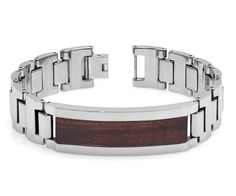 TNB262TY0 Tungsten Carbide Bracelet with by JewelryAvalanche, $88.99