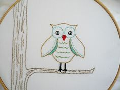 Embroidery Pattern PDF - I would like to make this for my room sometime