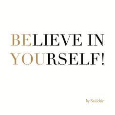 Hay mil razones para creer en uno mismo!. Hazlo tú también!  #buenosdias #frasedeldia #baulchic #felizviernes