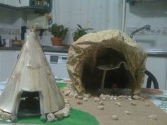 Era Paleolítica, School Projects, Projects To Try, Iron Age, Ancient History, Diorama, Naidoc Week, Stone, Crafts