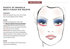 Get the Look - Facents of Marsala Multi-Finish Eye Palette: Pantone Color of the Year | Sephora