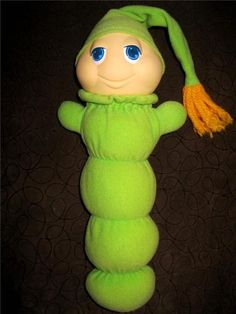 I would love to get a vintage glo worm for Kendi.