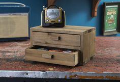 Mini-commode en bois « Vintage »