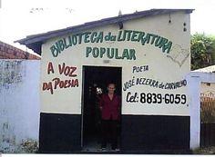 """:: Biblioteca da Literatura Popular """"A Voz da Poesia"""" ::"""