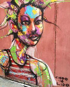 David Choe mural produced with the Lide Foundation in Haiti in Graffiti, David Choe, Public Art, Art World, Foundation, Artist, Haiti 2016, Painting, Playground