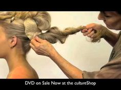 Sharon Blain - Jewel Collection - Long Hair Styling DVD - YouTube