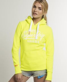 Superdry Ticket Type Hoodie - Women's Hoodies
