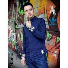 Adidas Originals Badge Bomber Jacket Navy | Adidas originals