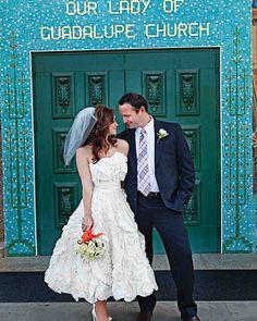 Melissa Sweet Cute Short Wedding Dress DMartin