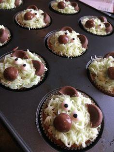 Krea10vmamma: Morsomme sitronmuffins med smørkrem