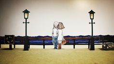 love will make you blind - short paper stop motion by beshart