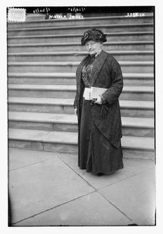 labor activist Mother Jones (1837-1930) who was attending the 1915 hearings of the federal Commission on Industrial Relations at the New York City Hall, New York City.