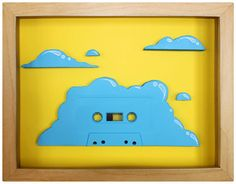 THIS IS THE REMIX: NOSTALGIA INDUCING CASSETTE TAPE ART