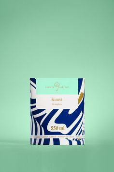Brand identity and package design by Helsinki-based Werklig for Finnish ice cream / Packaging / Design / Ice Cream / Mint / Blue / Gold Modern / Award Winning Ice Cream Packaging, Dessert Packaging, Food Packaging Design, Wine Packaging, Cosmetic Packaging, Pretty Packaging, Brand Packaging, Coffee Packaging, Coffee Label