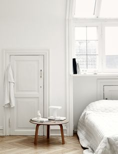 Chambre blanche - white bedroom