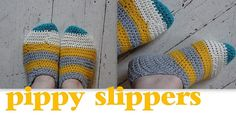 I like the idea of these but am not sure whether they will work practise. Would they be more like socks than slippers? #crochet