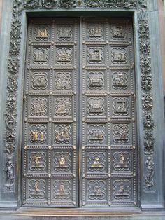 Image result for porta sud battistero firenze