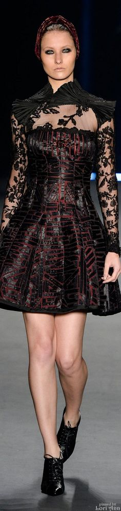 Lino Villaventura Collection Ready-to-Wear Fall-winter Cocktail Outfit, Evening Party Gowns, Glamour, Fall Winter 2015, Stylish Dresses, Fashion Stylist, Couture Fashion, Chic Outfits, High Fashion