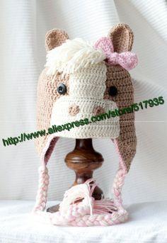 Compra crochet horse hat y disfruta del envío gratuito en AliExpress.com ca6f729b6f7