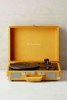 Shop Crosley UO Exclusive Velvet Cruiser Bluetooth Record Player at Urban Outfitters today. We carry all the latest styles, colors and brands for you to choose from right here. Yellow Aesthetic Pastel, Orange Aesthetic, Aesthetic Colors, Aesthetic Photo, Aesthetic Pictures, Music Aesthetic, Aesthetic Vintage, Aesthetic Bedroom, Aesthetic Videos