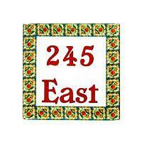 Square Designs » Exotic Ceramic Tiles Designs Tile Murals, Wall Tiles, Cement Tiles, Mosaic Tiles, Ceramic Pottery, Ceramic Art, Plaque Design, Family Name Signs, Portuguese Tiles