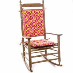 Make your favorite Cracker Barrel Old Country Store® Rocking Chair burst with color with our Bright Colors Rocker Cushion.