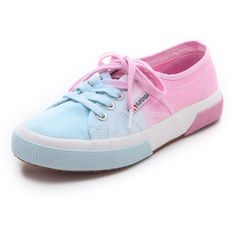 Ombré shading adds a modern dimension to these classic canvas sneakers from Superga. Textured rubber sole. Imported, Vietnam. This item cannot be gift-boxed.