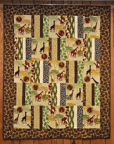 I like this African themed quilt.
