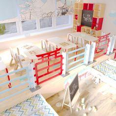 Дизайн проект оформление детского сада Китай с кроватью-подиумом от мебельной компании Автограф Loft, Bed, Furniture, Home Decor, Lofts, Stream Bed, Interior Design, Home Interior Design, Beds