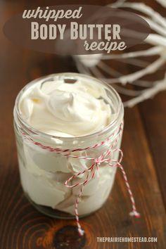 batida corporal receta de mantequilla con ingredientes simples y naturales!