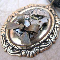 Neo Victorian Steampunk Necklace