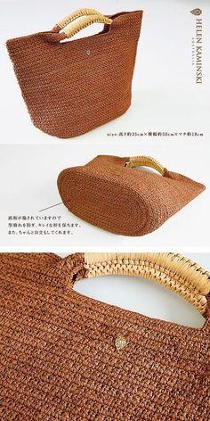 Purse Patterns Knitting Patterns Crochet Patterns Crochet Purses Crochet Handbags New Crafts Handmade Handbags Jute Bags Straw Bag Crochet Backpack, Crochet Tote, Crochet Handbags, Crochet Purses, Crochet Star Stitch, Crochet Diy, Purse Patterns, Knitting Patterns, Crochet Patterns