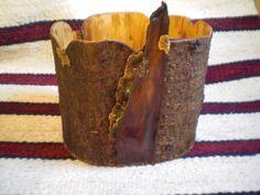 Bark baskets by JoAnn Flanagan