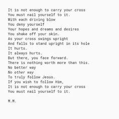 "Galations 2:20...""Take Up Your Cross"" • • #mmpoetry #scripture #cross #crucifiedwithChrist #poet #poetess #poetsofig #poetsociety #poem #poemsporn #poemsofig #poetry #poetryporn #poetryofinstagram #poetrycommunity #poetryisnotdead #poetryofig #words #wordporn #quote #writerscommunity #bible #paul #forward #lookingahead #Christian #Christianpoetry"
