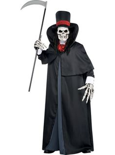 Adult Dapper Death Costume ($64.99) - Party City