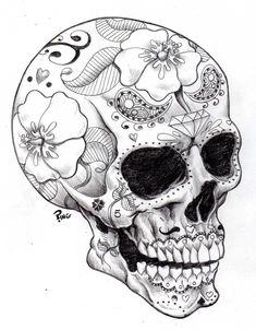 Sugar Skull Ping by ~PINGriff on deviantART