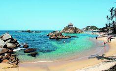 Definen medidas para recibir turistas en el Parque Tayrona Tayrona National Park, Santa Marta, Beautiful Beaches, Google Images, National Parks, Places To Visit, City, Water, Travel