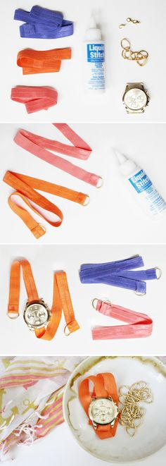 DIY: Color Elastic S