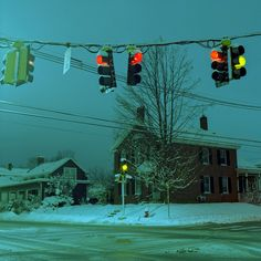 Photographer Patrick McCormack's stunning travel shots show a strange kind Nowheresville, USA Nocturne, Jm Barrie, Bg Design, Between Two Worlds, Autumn Trees, Small Towns, New England, Images, In This Moment