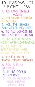 Love this! don't click, its a link to a weight loss spam thing. i just likefd the reasons.