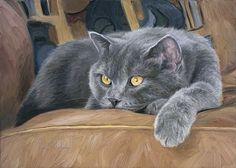 art by lucie bilodeau images | Art. Lucie Bilodeau -Comfortable (2007) — Catmoji
