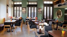 Eris Cafe Bar Restaurant Athens #mexil#restaurant#bar Cafe Bar, Restaurant Bar, Athens, Conference Room, Living Room, Table, Furniture, Home Decor, Decoration Home
