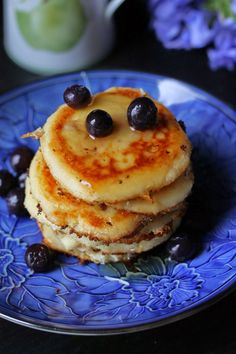 Where Your Treasure Is: Creamy Cottage Cheese and Coconut Pancakes grain-free and gluten-free