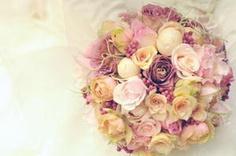新郎新婦様からのメール 花冠とブーケと : 一会 ウエディングの花