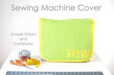 15 Minute Sewing Machine Cover Tutorial